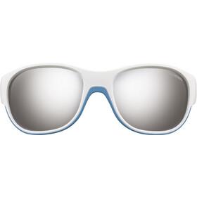 Julbo Kids 4-6Y Luky Spectron 3+ Sunglasses White/Blue-Gray Flash Silver